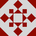 Alpha pattern #89127