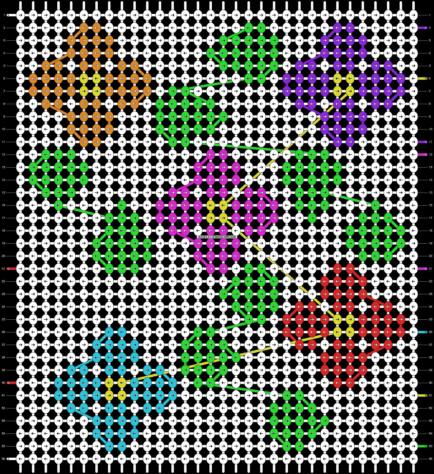 Alpha pattern #89144 pattern
