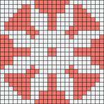 Alpha pattern #89165