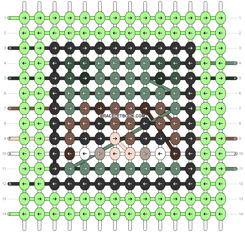 Alpha pattern #89168 pattern