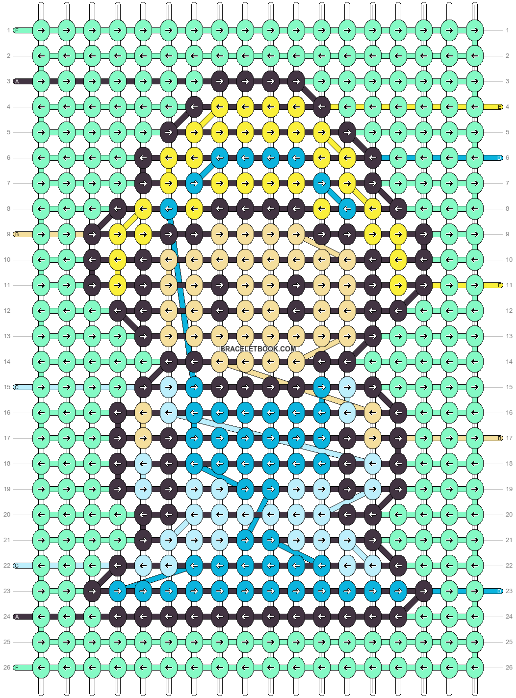 Alpha pattern #89175 pattern