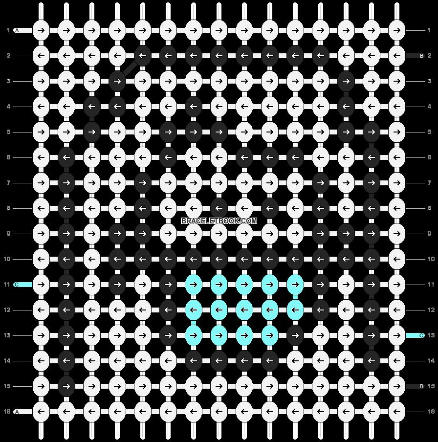 Alpha pattern #89191 pattern