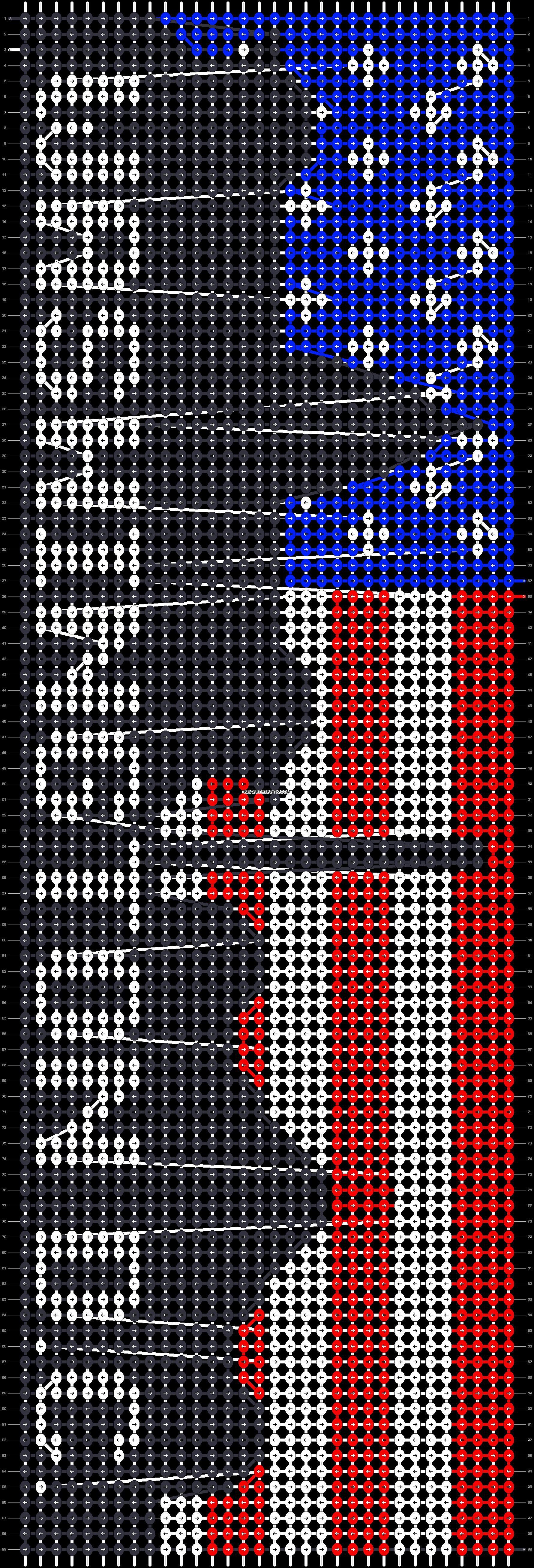 Alpha pattern #89213 pattern