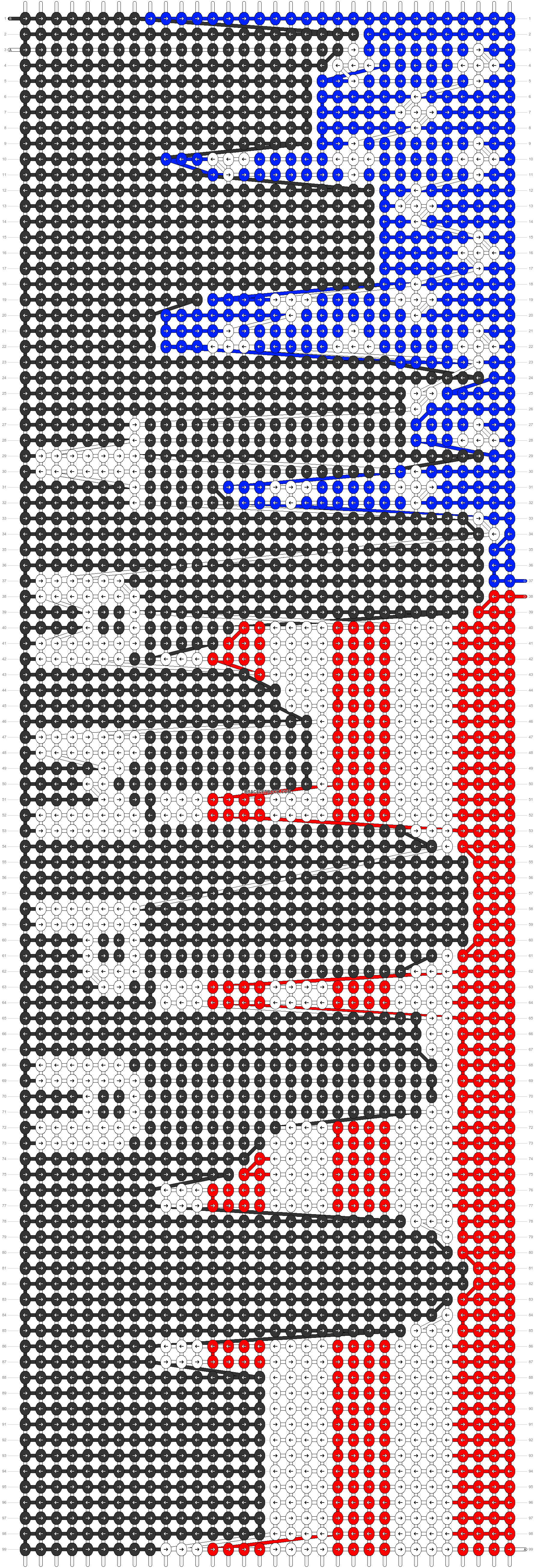 Alpha pattern #89214 pattern