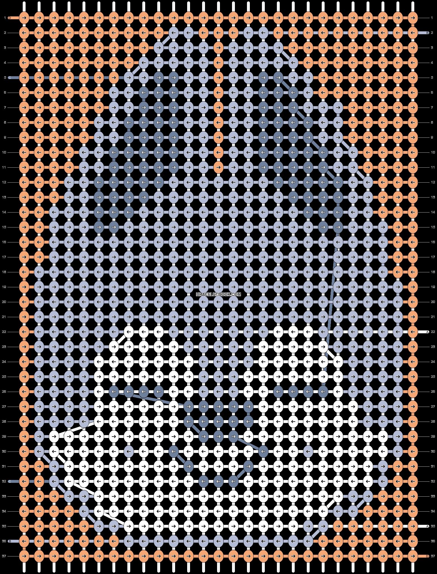 Alpha pattern #89225 pattern