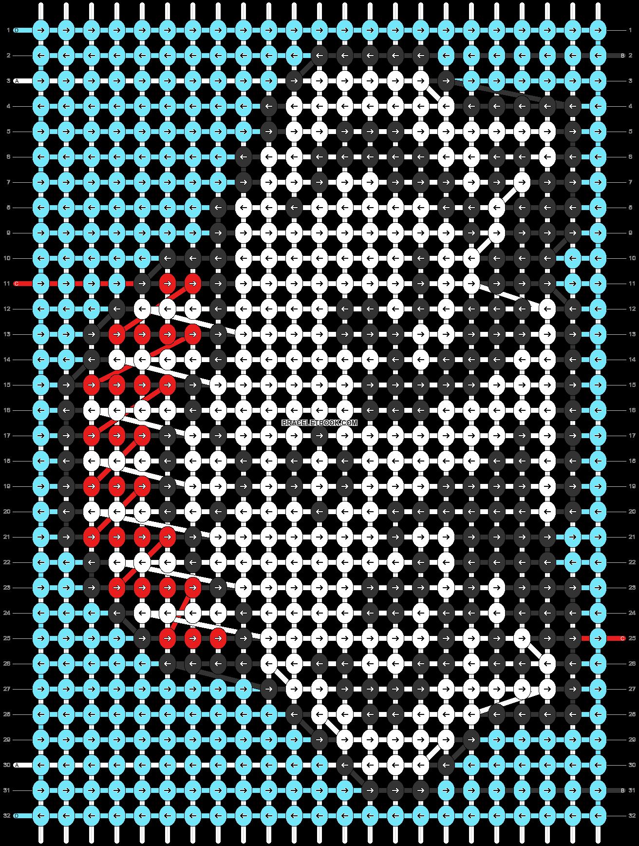 Alpha pattern #89232 pattern