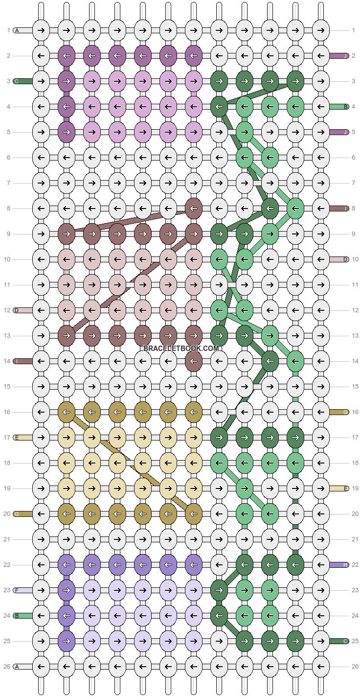 Alpha pattern #89263 pattern