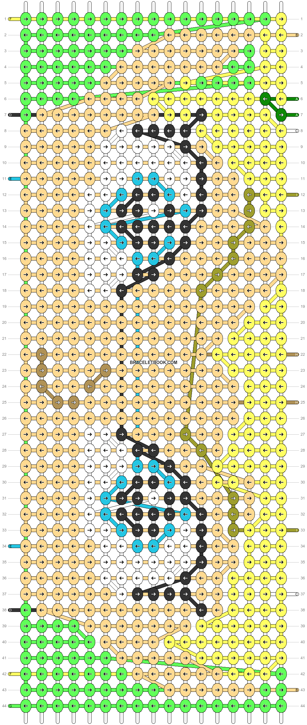 Alpha pattern #89276 pattern