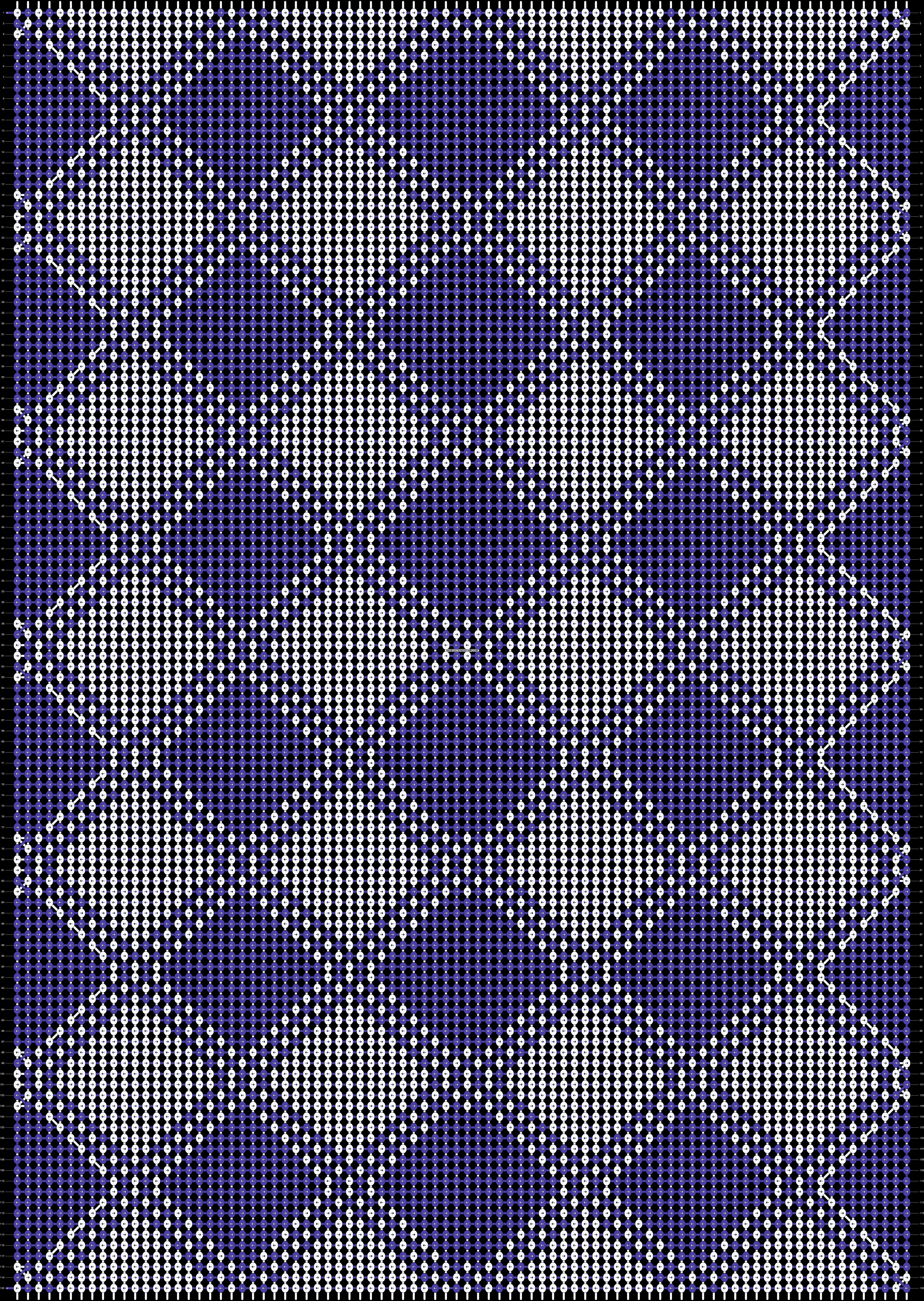 Alpha pattern #89288 pattern
