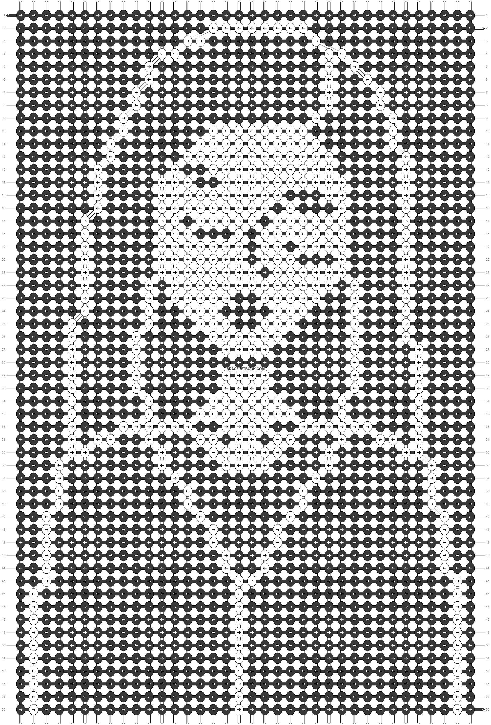 Alpha pattern #89292 pattern