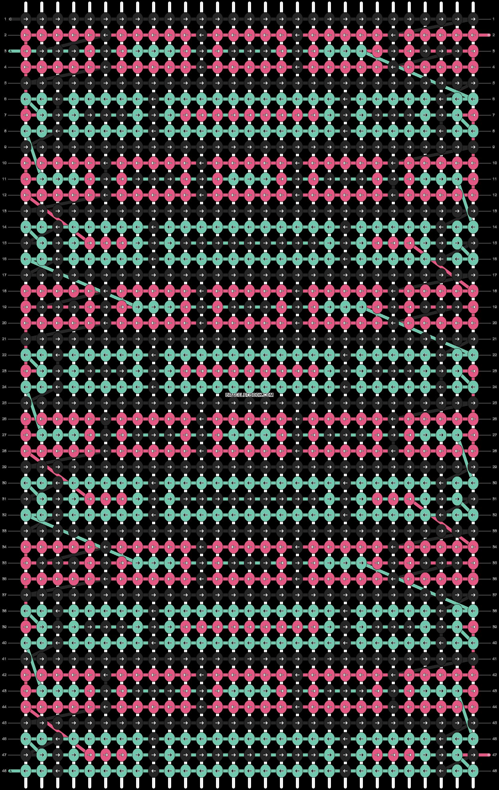 Alpha pattern #89301 pattern