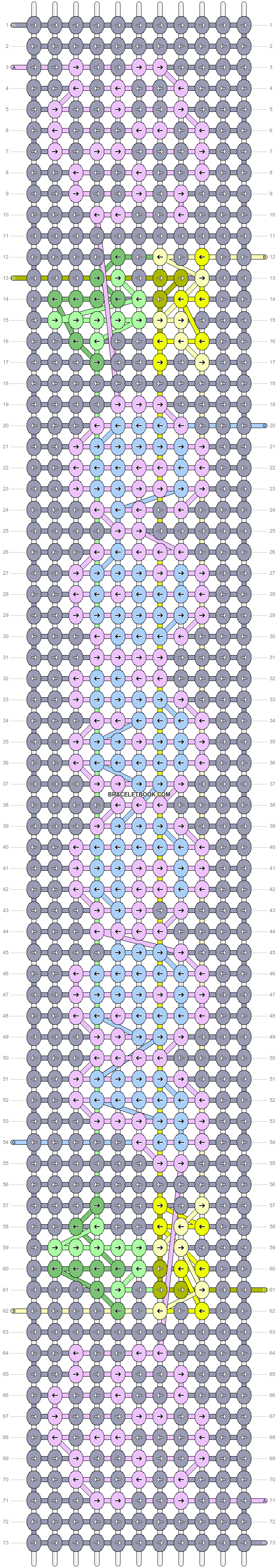 Alpha pattern #89304 pattern