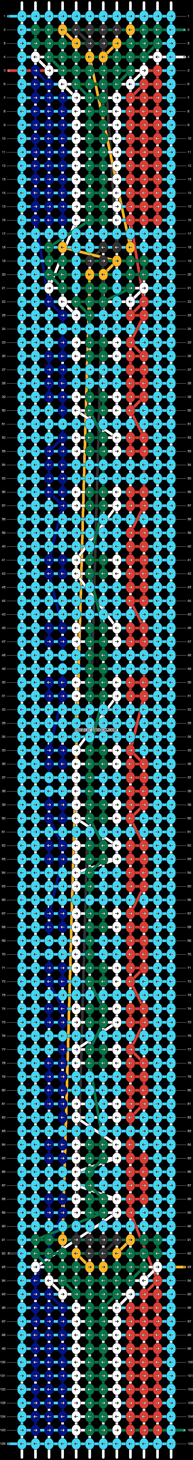 Alpha pattern #89305 pattern