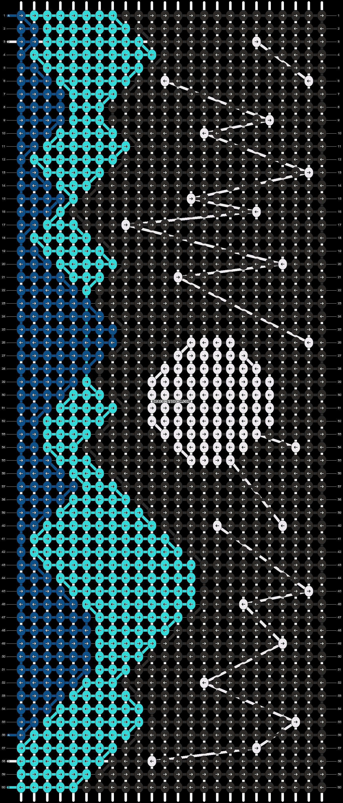 Alpha pattern #89306 pattern