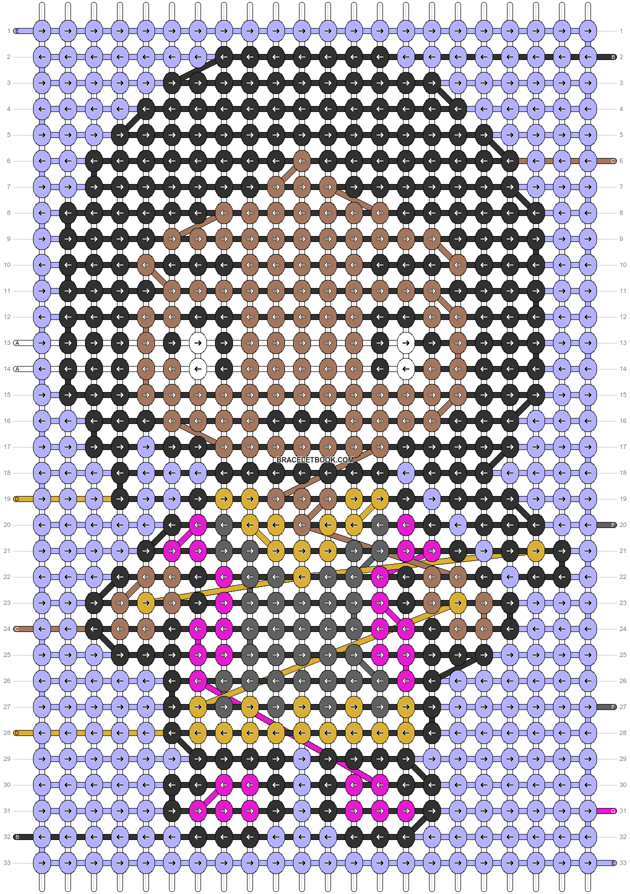 Alpha pattern #89315 pattern