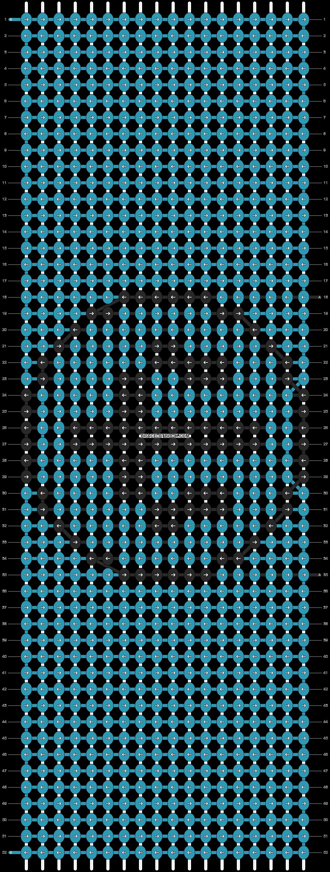 Alpha pattern #89353 pattern