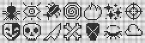 Alpha pattern #89364
