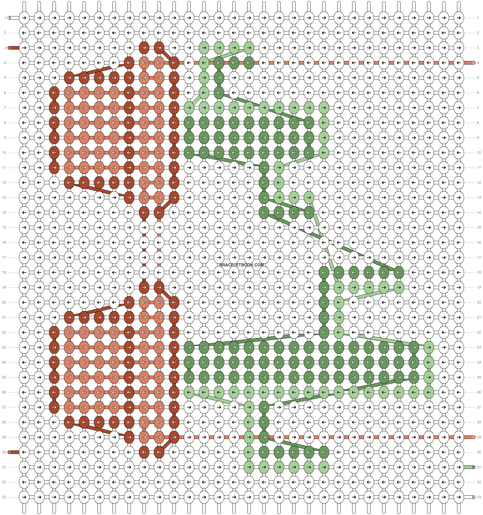 Alpha pattern #89367 pattern