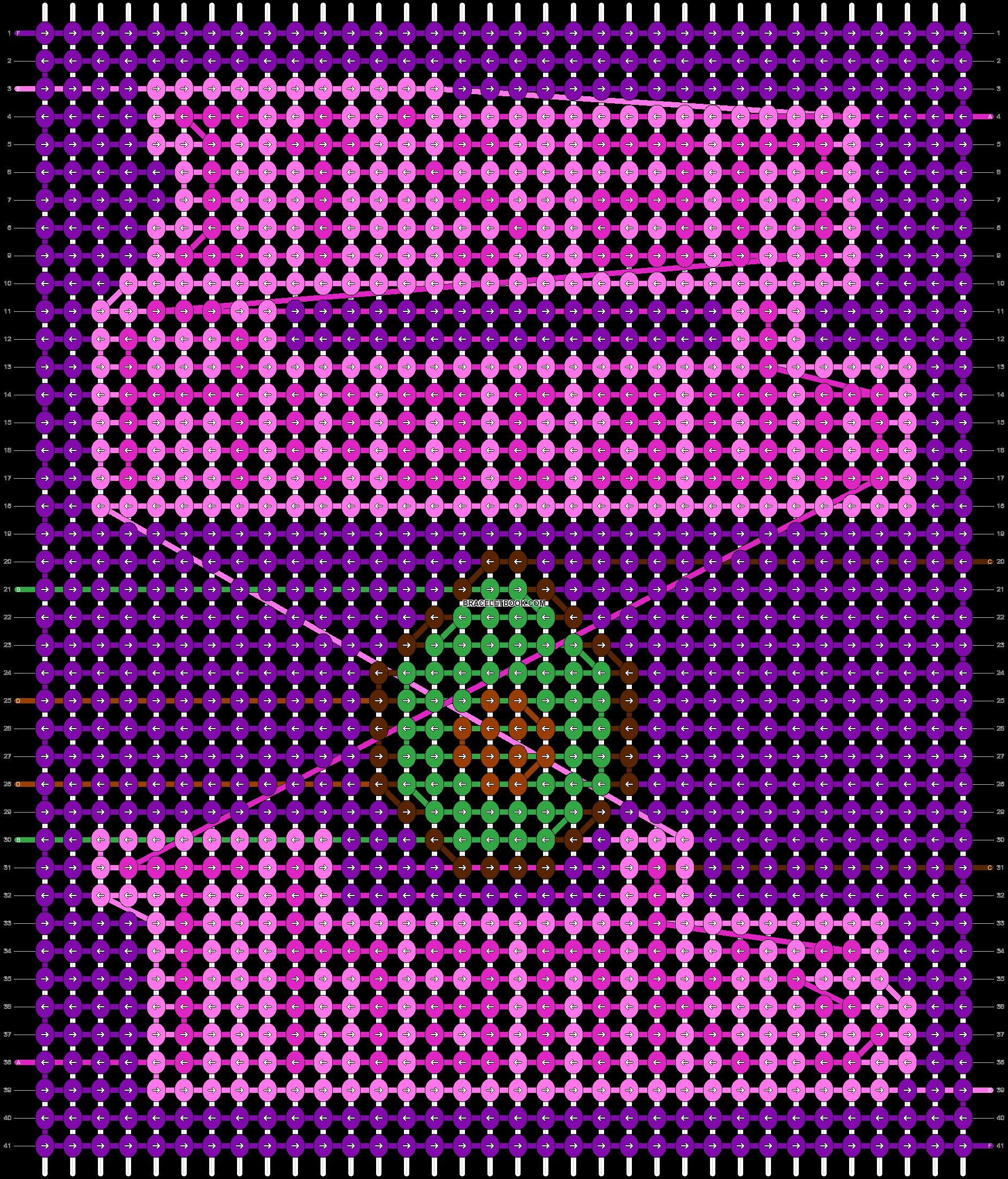 Alpha pattern #89381 pattern