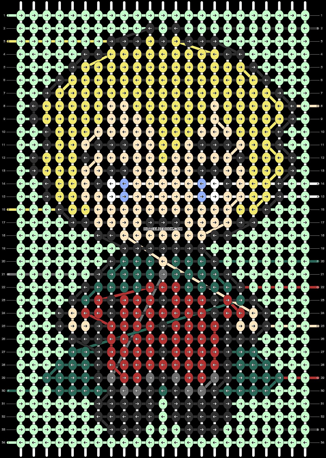 Alpha pattern #89424 pattern