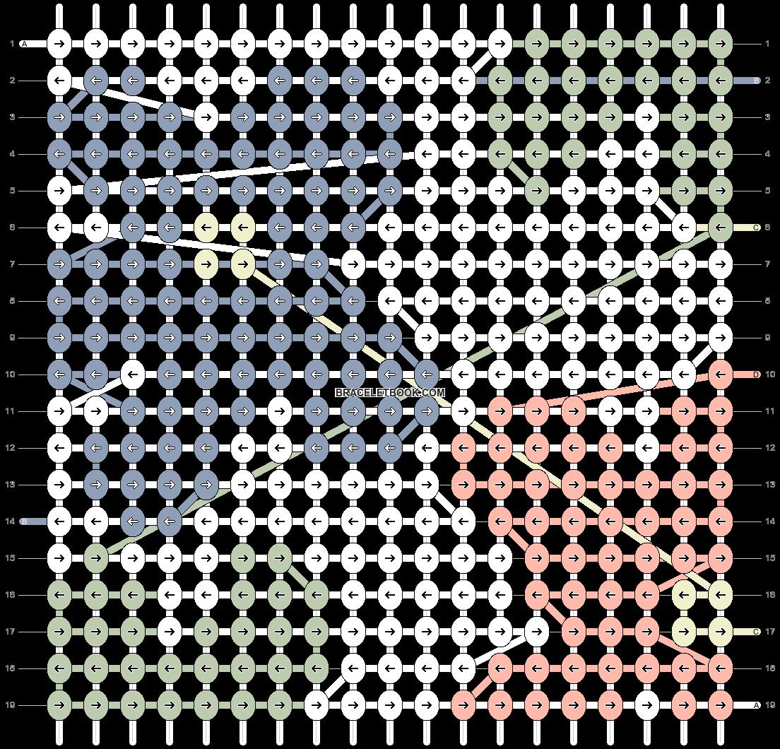Alpha pattern #89433 pattern