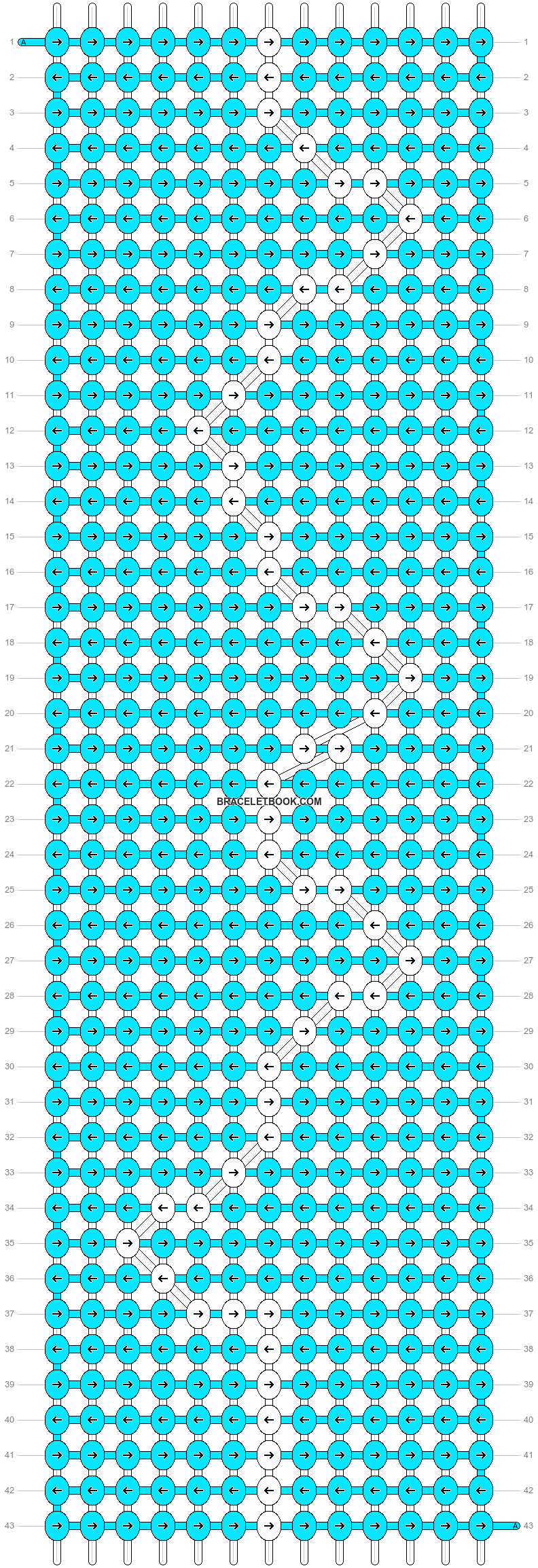 Alpha pattern #89436 pattern