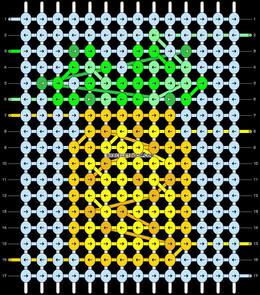 Alpha pattern #89438 pattern