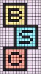 Alpha pattern #89447