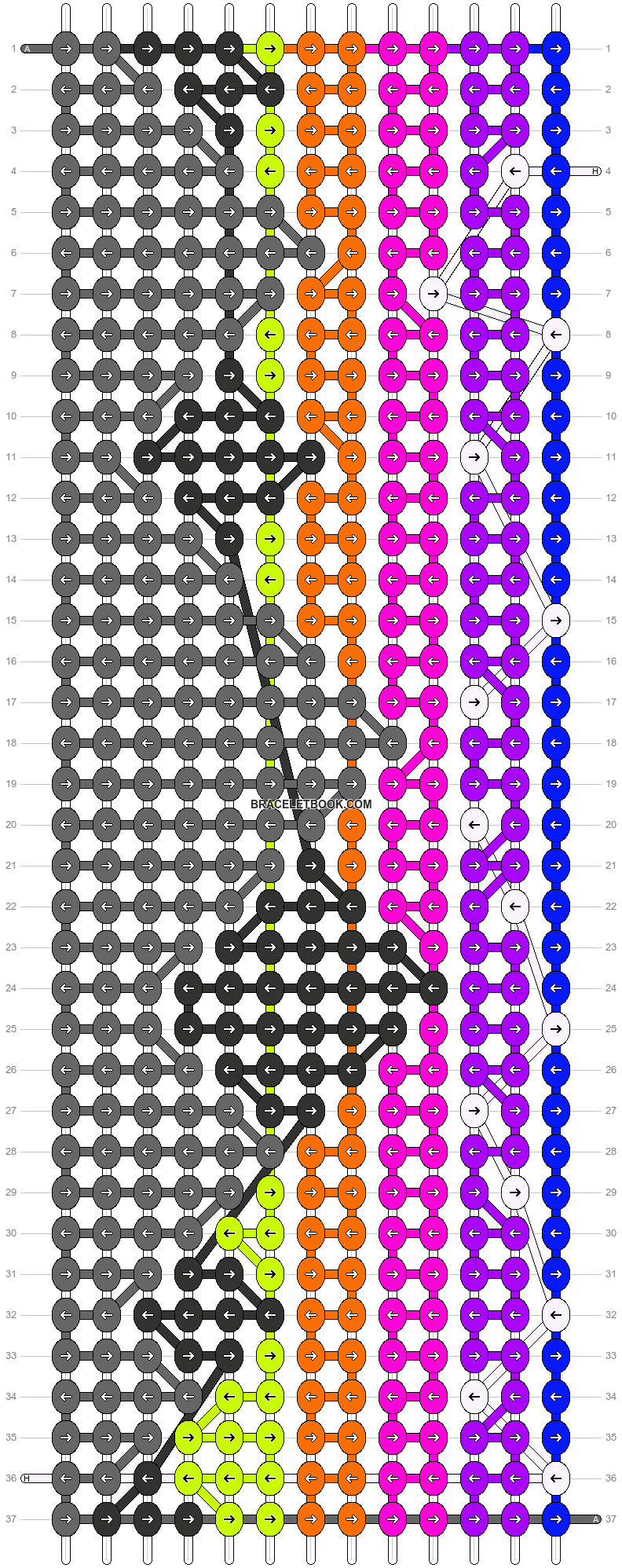 Alpha pattern #89456 pattern