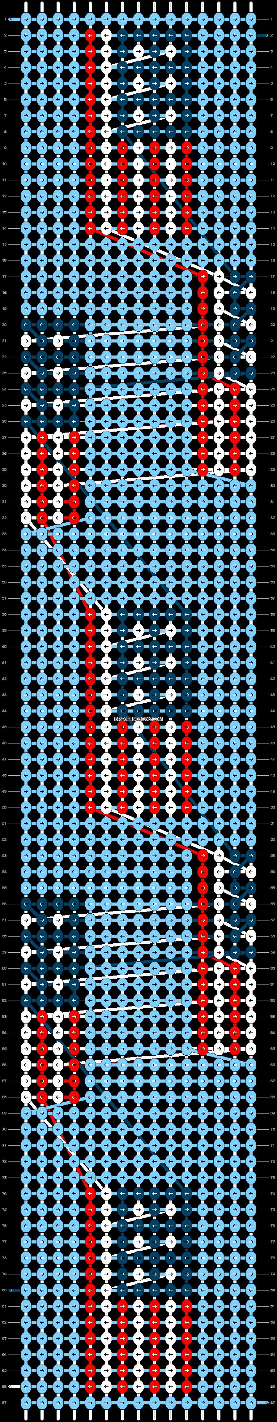 Alpha pattern #89463 pattern