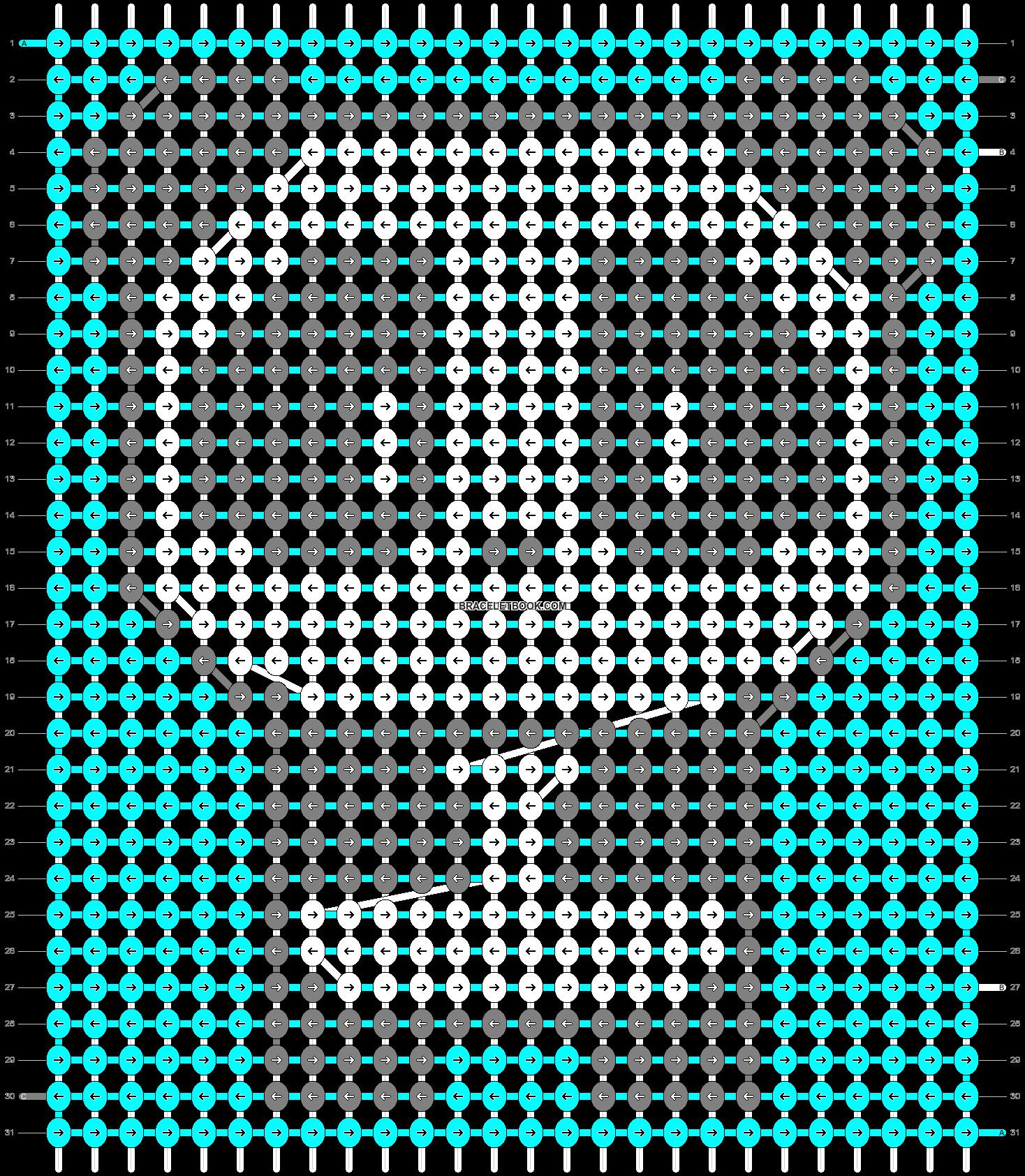 Alpha pattern #89465 pattern