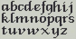 Alpha pattern #89487