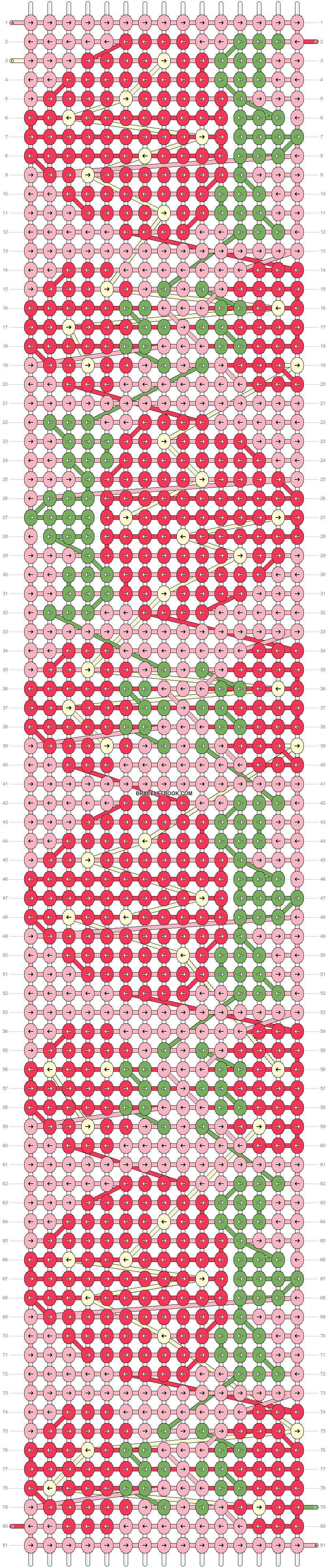 Alpha pattern #89506 pattern