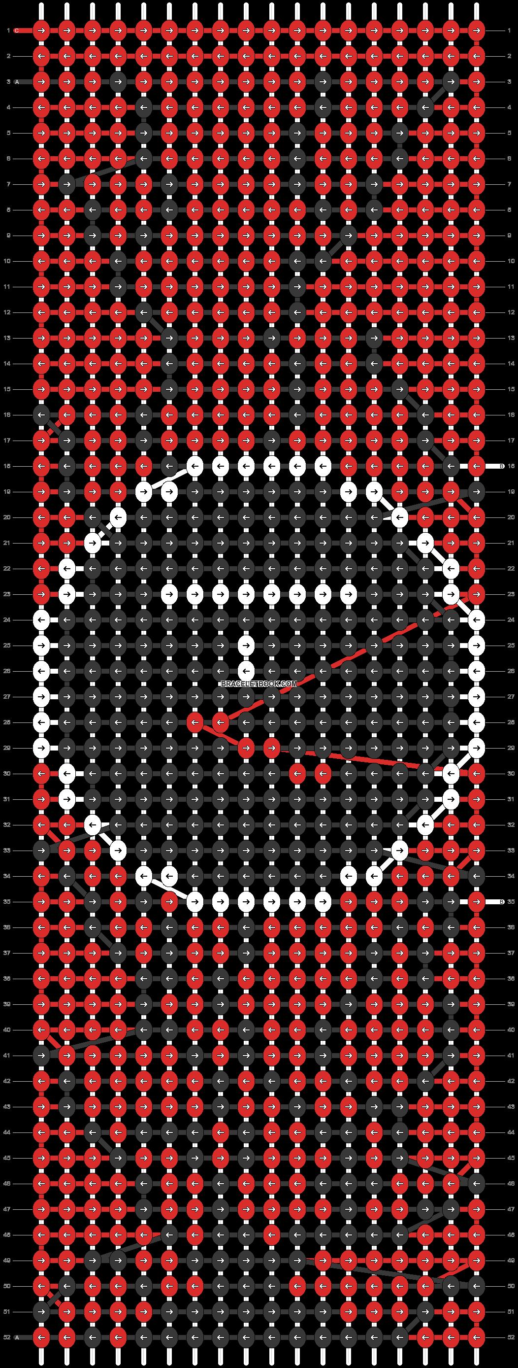 Alpha pattern #89517 pattern