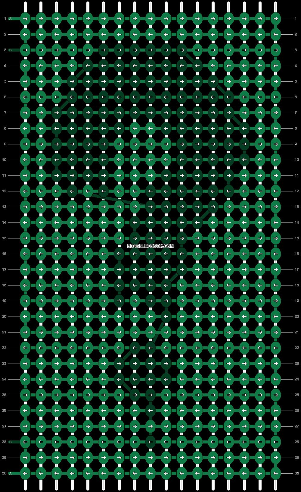Alpha pattern #89544 pattern