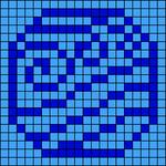 Alpha pattern #89556