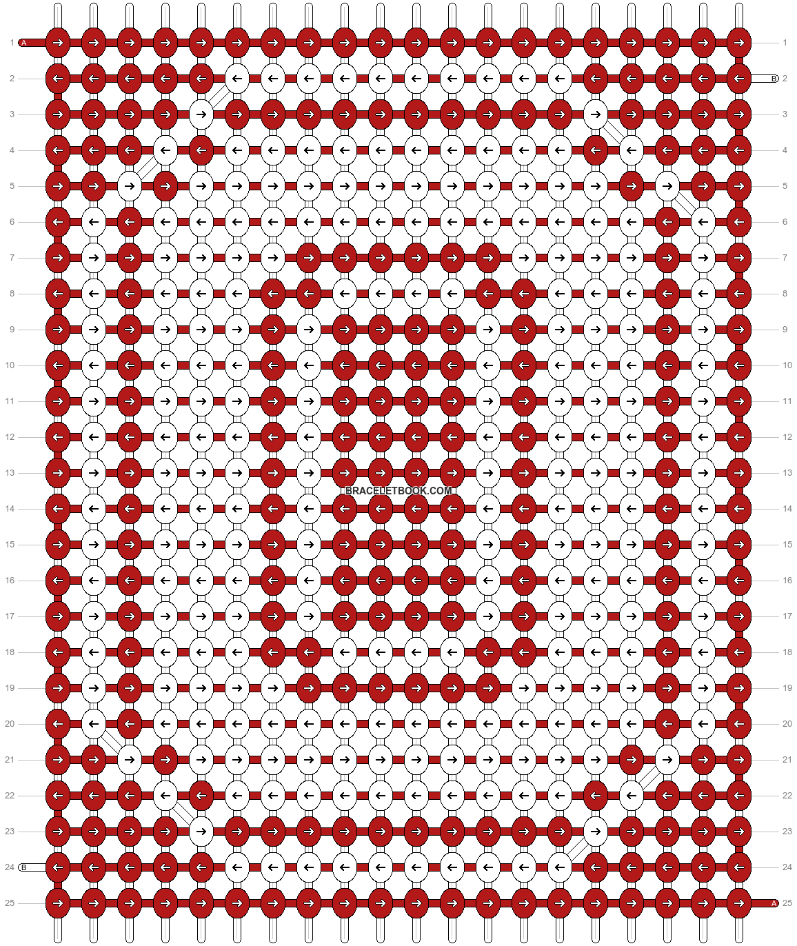 Alpha pattern #89583 pattern