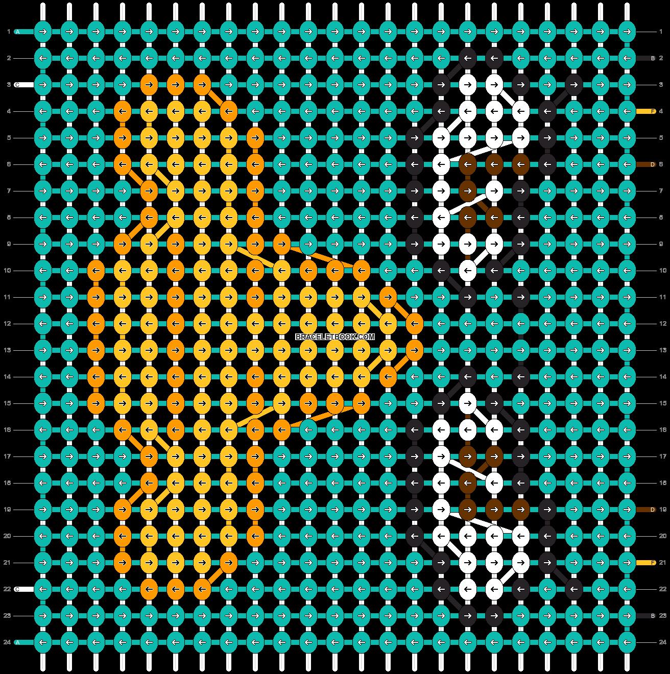 Alpha pattern #89587 pattern
