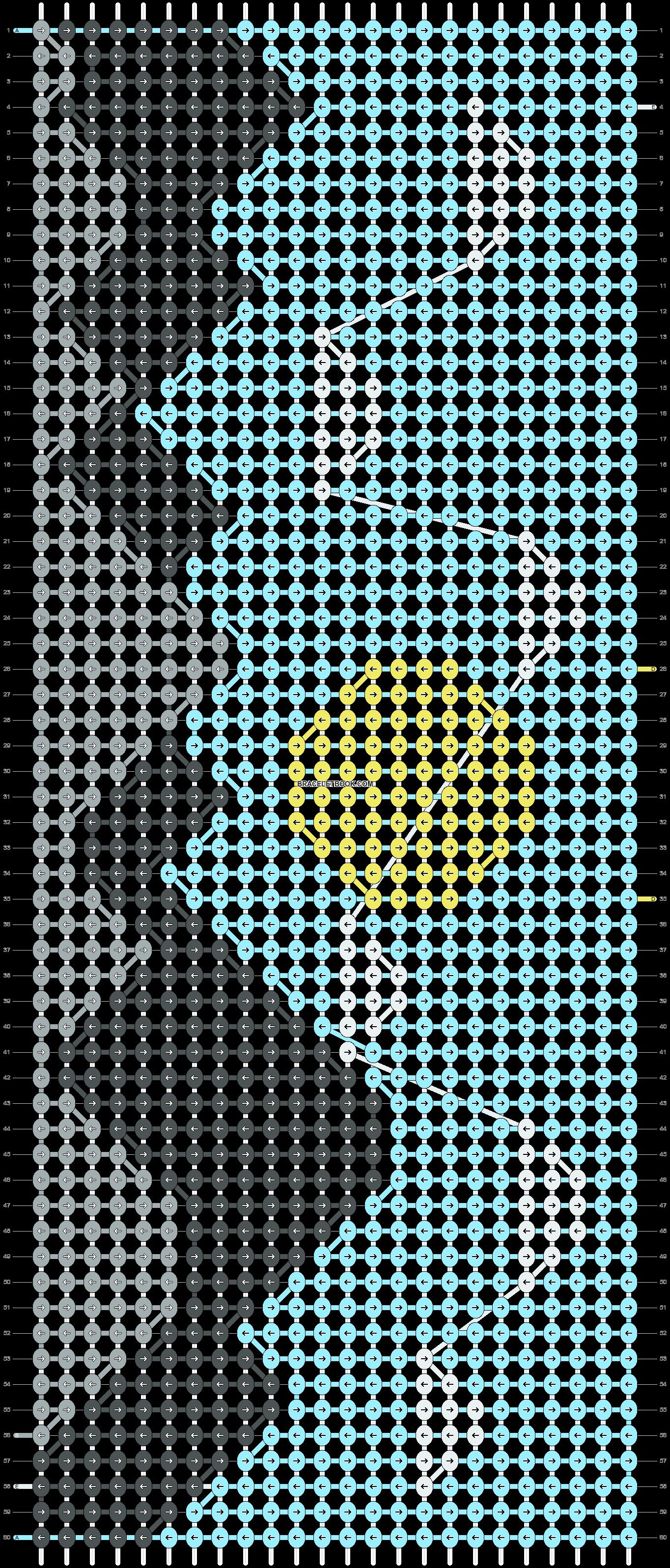 Alpha pattern #89588 pattern