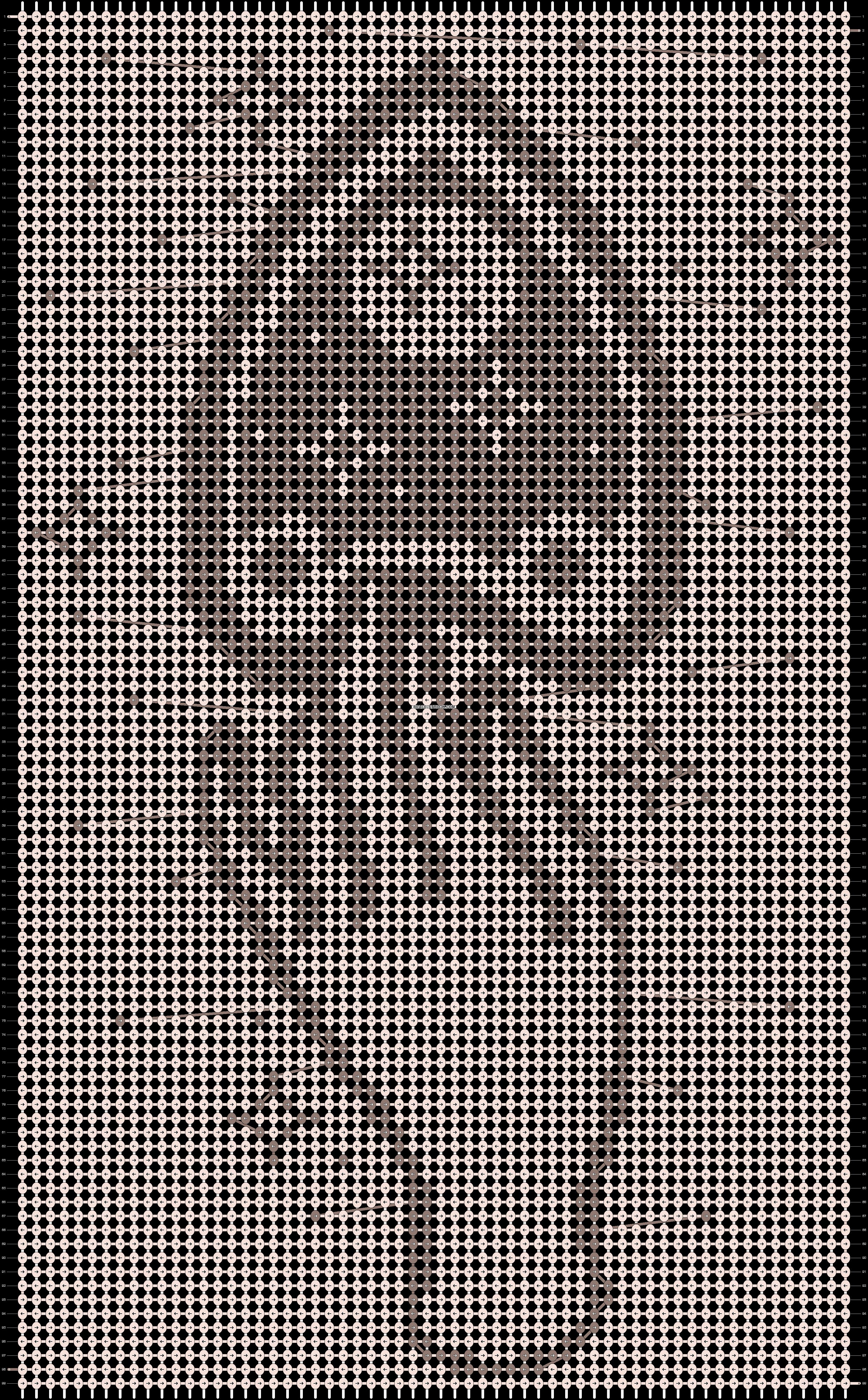 Alpha pattern #89661 pattern