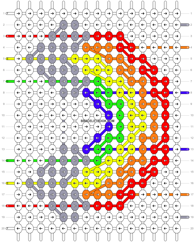 Alpha pattern #89664 pattern