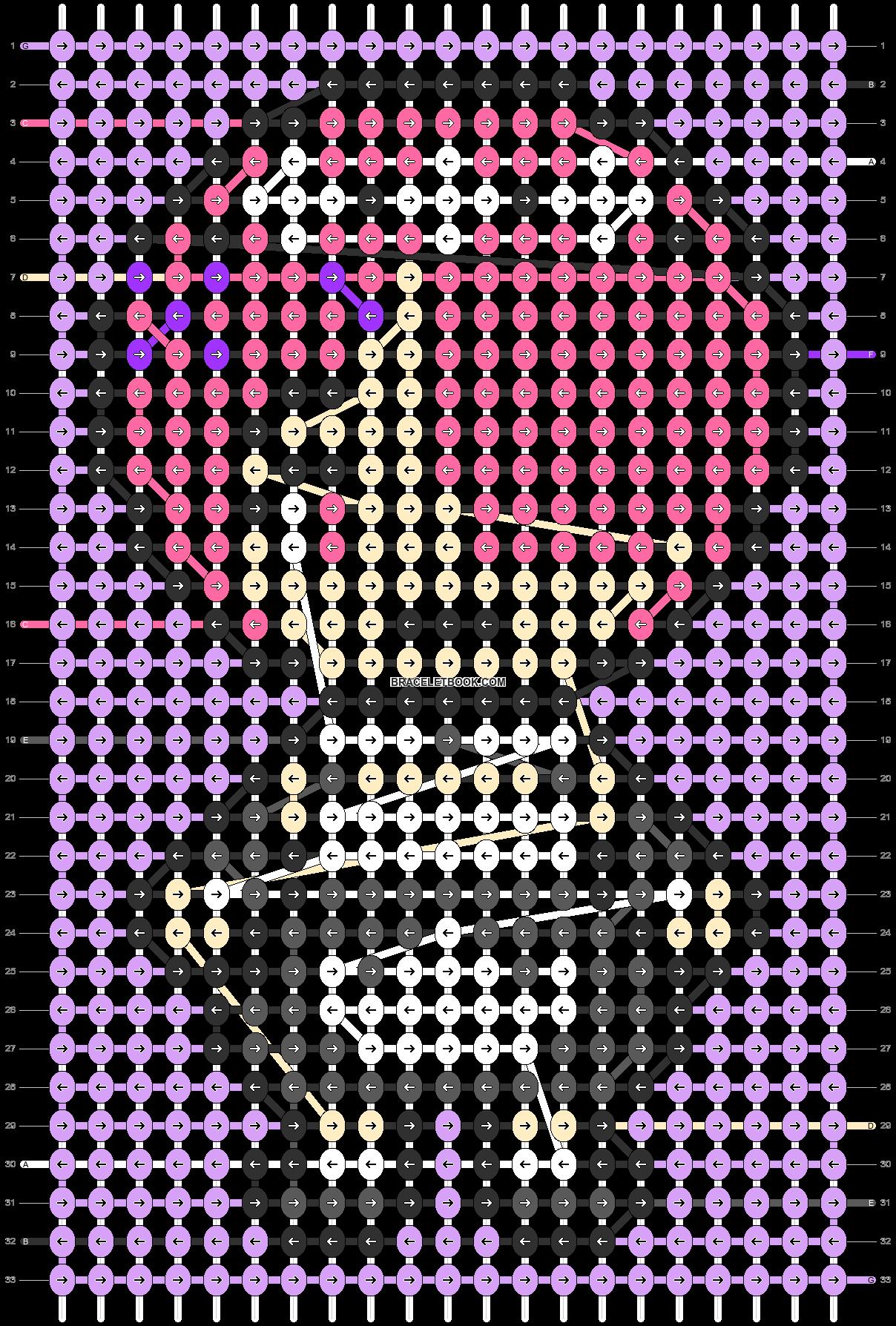 Alpha pattern #89666 pattern