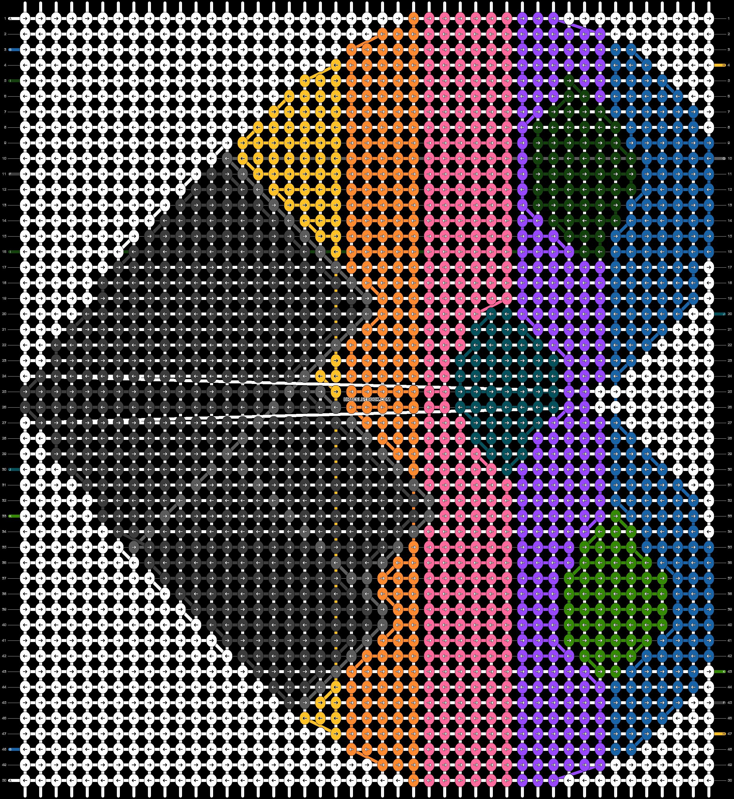 Alpha pattern #89667 pattern