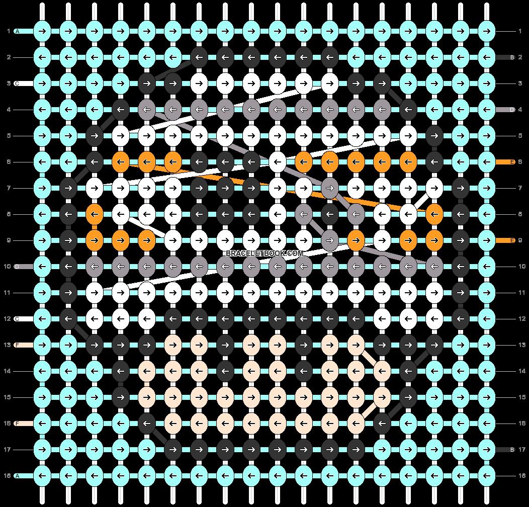Alpha pattern #89683 pattern