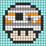 Alpha pattern #89683