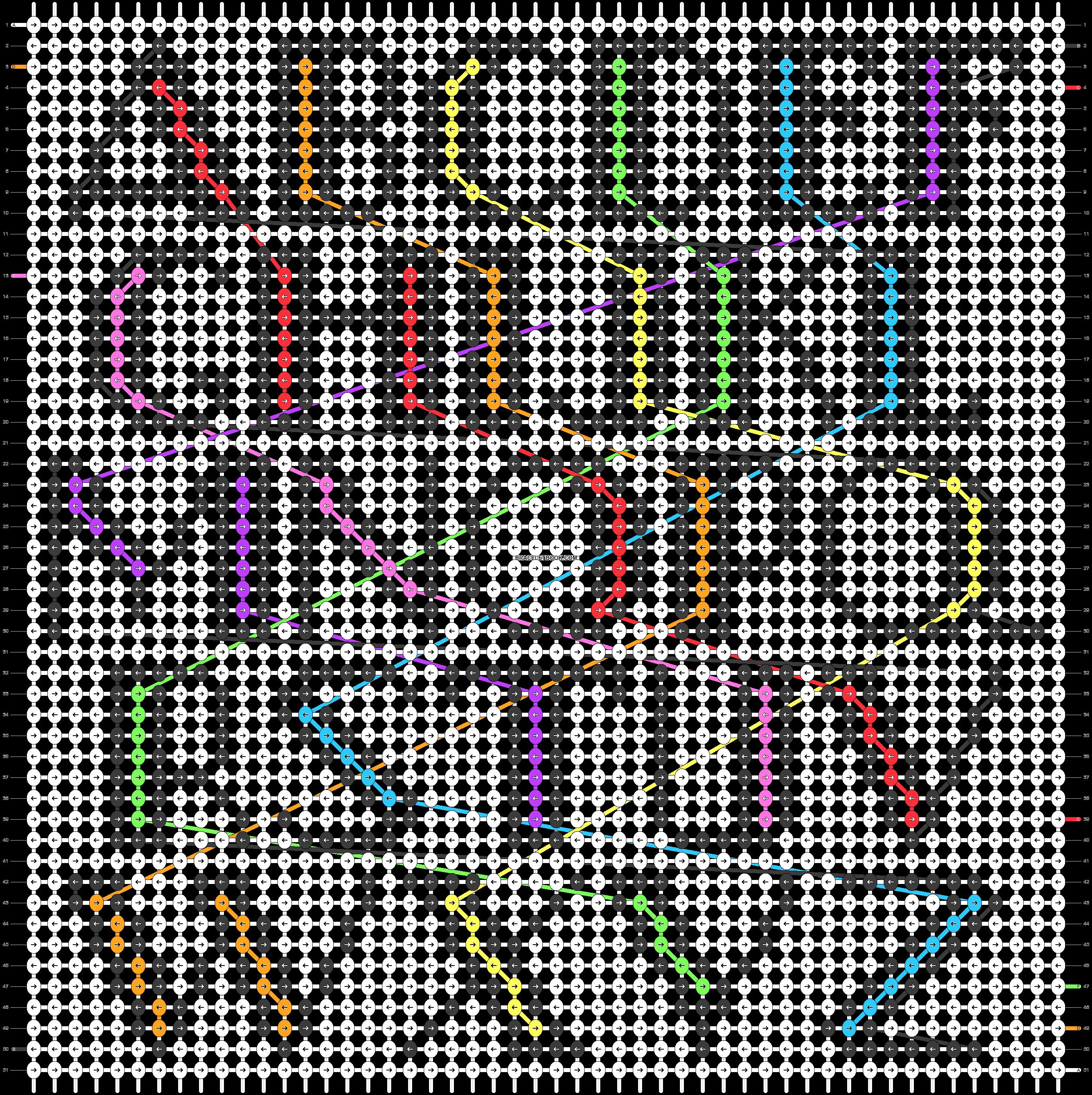 Alpha pattern #89685 pattern