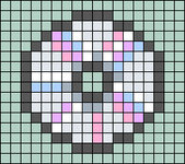 Alpha pattern #89689