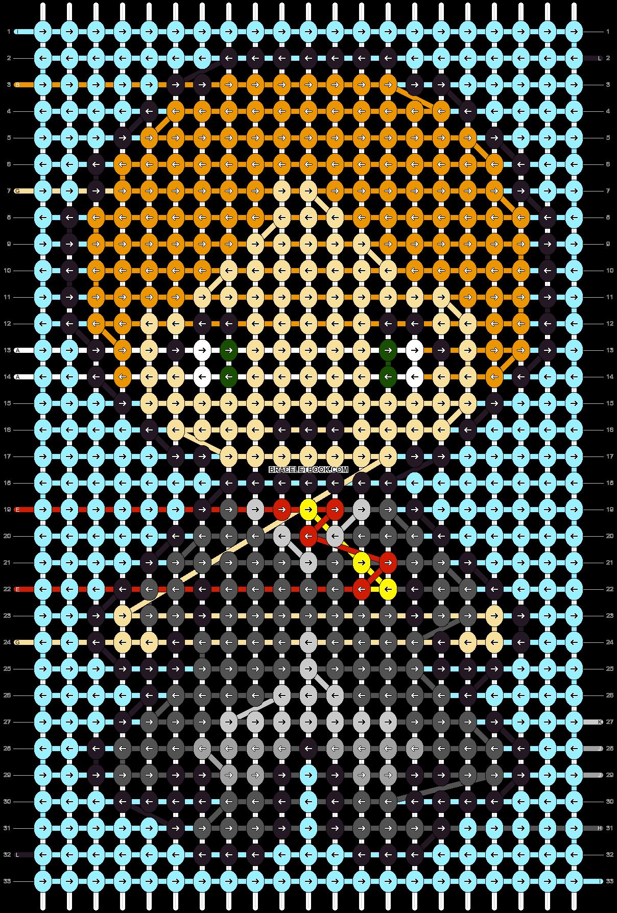 Alpha pattern #89695 pattern