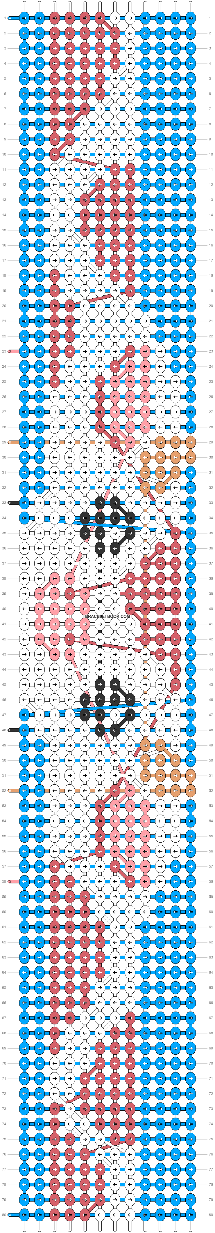 Alpha pattern #89703 pattern