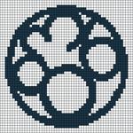 Alpha pattern #89708